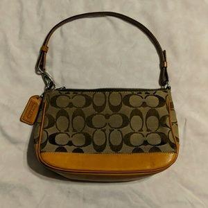 Coach Small Brown Handbag